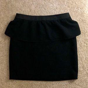 LOFT  Ruffled Mini Skirt 8 Petite